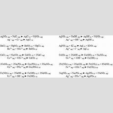 Lab 3  D10412  Net Ionic Equations Lab  Ap Chem 1213 Nufpuh