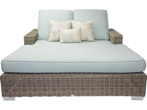 patio heaven palisades wicker chaise pasbc2gsr