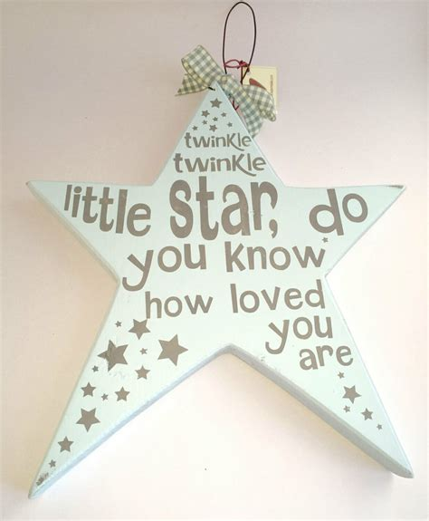 The most common star nursery decor material is cotton. Twinkle twinkle little star child's wall art / Childrens Wall Art / Nursery Wall Art / New baby ...