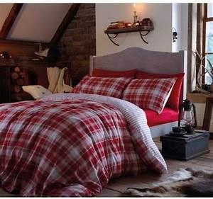 Flanell Bettwäsche 200x200 : sch ne bettw sche aus flanell rot 200x200 von dekoria bettw sche ~ Whattoseeinmadrid.com Haus und Dekorationen