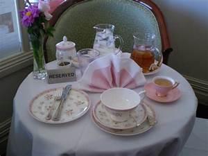 Table Setting For High Tea