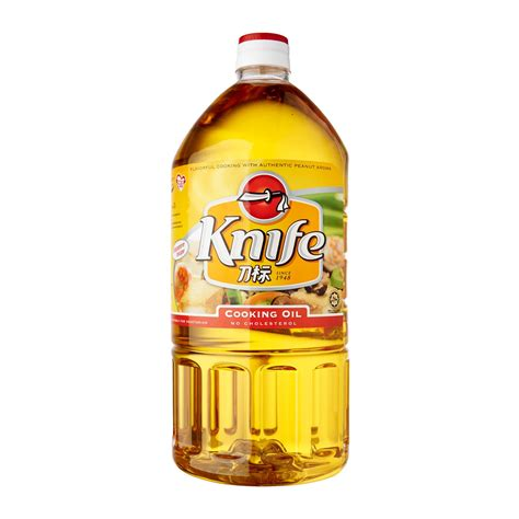 Knife Cooking Oil 0  From Redmart