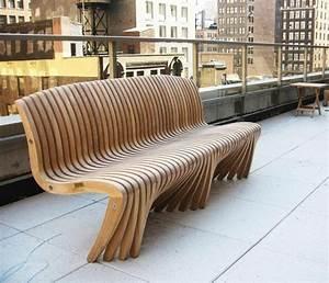 U Balken Holz : 22 tolle design ideen f r eine gartenbank aus holz ~ Markanthonyermac.com Haus und Dekorationen