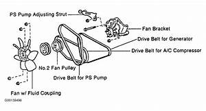 Wiring Diagram Database  2003 Toyota Corolla Belt Diagram
