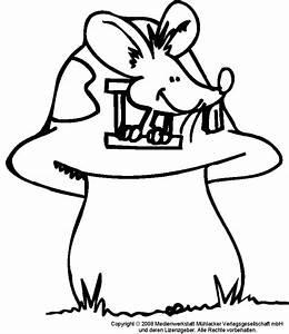 Maus Im Haus : ausmalbild maus im pilzhaus medienwerkstatt wissen ~ A.2002-acura-tl-radio.info Haus und Dekorationen