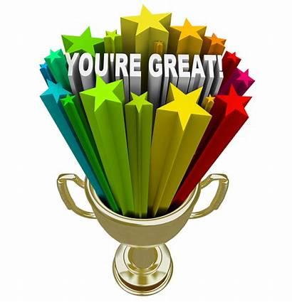 Re Praise Trophy Winner Job Words Recognition