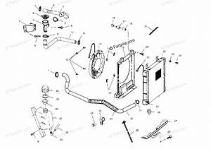 Polaris Atv 2004 Oem Parts Diagram For Cooling System
