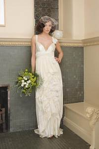 vintage wedding dress 500 days of inspiration With white linen wedding dress