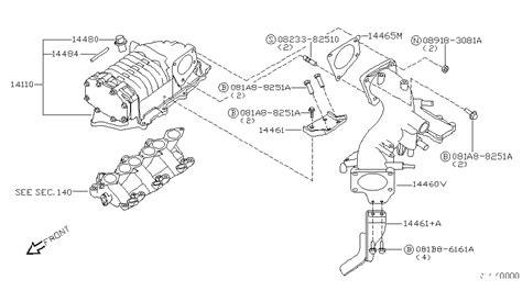 2000 Xterra Vacuum Diagram by 14110 5s725 Genuine Nissan 141105s725 Supercharger