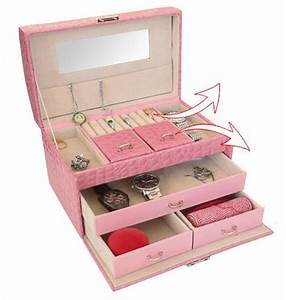 Boite A Bijoux : boite a bijoux rose visuel 8 ~ Teatrodelosmanantiales.com Idées de Décoration