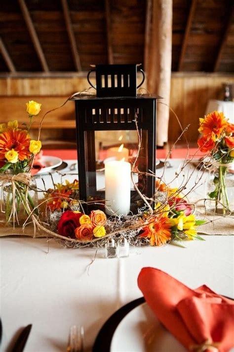 fall lantern centerpieces lantern table lamp metal table
