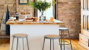 Ilot De Cuisine : cuisine lot central plans conseils d 39 am nagement photos exemples c t maison ~ Teatrodelosmanantiales.com Idées de Décoration