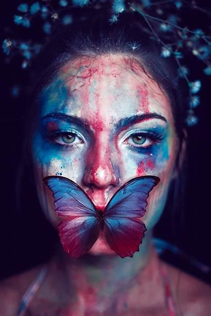 Portrait Butterfly Colorful Wallhere Wallpapers