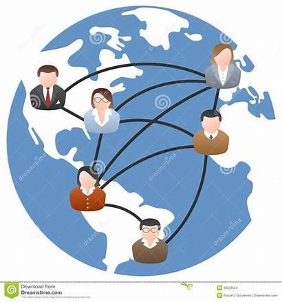 Communication Network Global Social Clipart Background Community