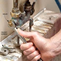 fixing a leaking kitchen faucet fix a leaking faucet the family handyman