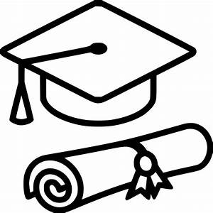 Graduation Cap Diploma Svg Png Icon Free Download (#554182 ...