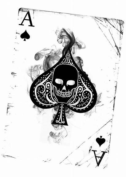 Ace Spades Card Tattoo Spade Transparent Heart