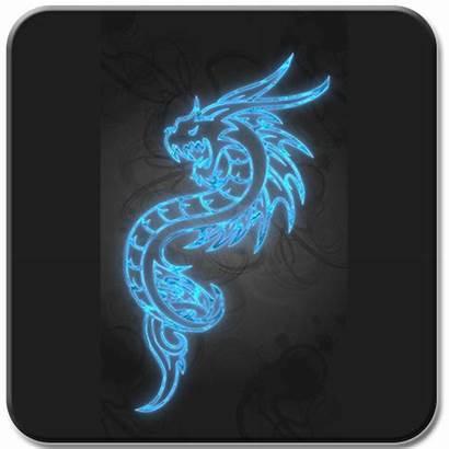 Neon Dragon Sign