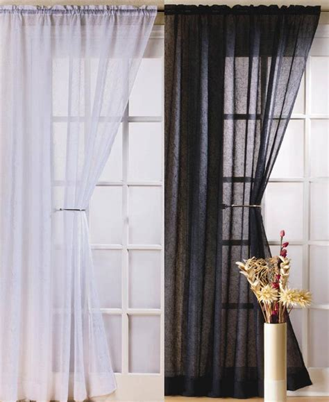 Crushed Voile Curtains Uk by Fiji Crushed Voile Curtain Panel Drops 48 Quot 54 Quot 72 Quot 90