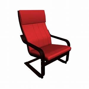 Ikea Lounge Sessel : po ng sessel in braun und alme mittelrot einrichten planen in 3d ~ Markanthonyermac.com Haus und Dekorationen