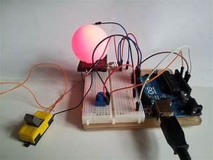 Lampe Mit Farbwechsel : pingpong lampe mit arduino ecotronics blog ~ Orissabook.com Haus und Dekorationen
