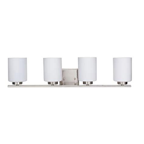 4 Bulb Bathroom Light Fixtures by Britelight 3 4 Bulb E26 Vanity Light Fixture Bathroom
