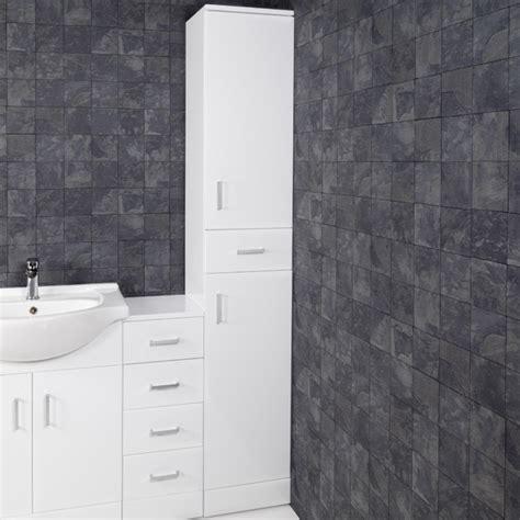 Gloss White Bathroom Cabinets by Essence White Gloss Bathroom Cabinet 350 X 300mm