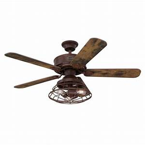 Westinghouse Barnett 48 In  Led Barnwood Ceiling Fan With