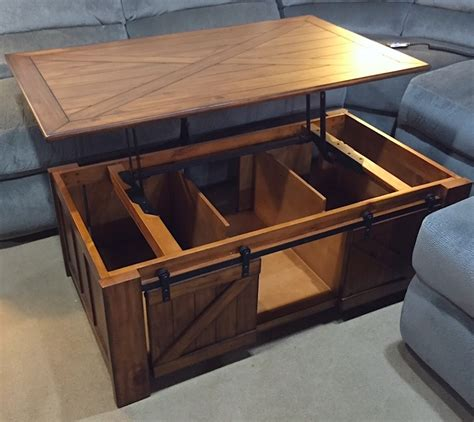 Lift Top Coffee Tables With Storage   Roy Home Design