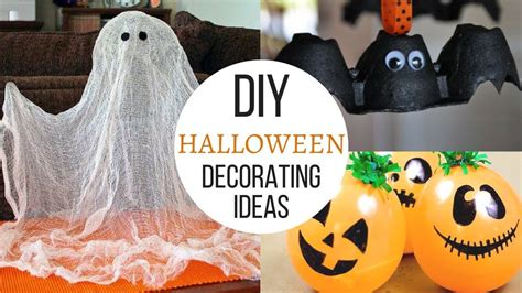 easy  diy halloween decorating ideas youtube