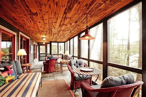 warm home interiors the warm interior of lake house