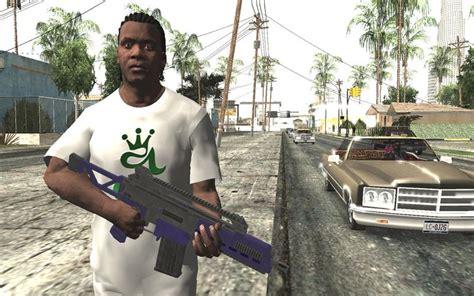 Gta San Andreas Gta V Franklin Clinton (pc Quality) Mod