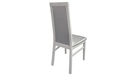 chaise blanche simili cuir chaise baroque en similicuir matelassé gris trenton