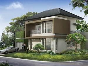 2, Story, Minimalist, Tropical, House