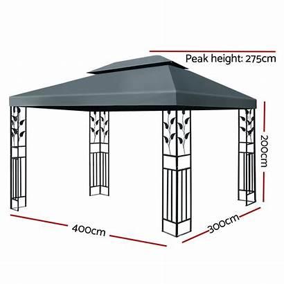 Gazebo Tent Instahut Marquee Canopy Iron Event
