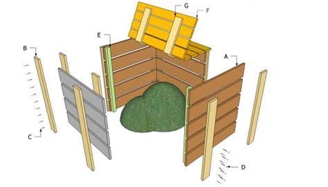 compost bin plans  myoutdoorplans  woodworking