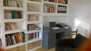 Comment Faire Des Bandes De Placo : comment faire une biblioth que en placo youtube ~ Dailycaller-alerts.com Idées de Décoration