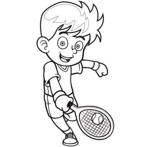 module de cuisine coloriage joueur de tennis en ligne gratuit à imprimer