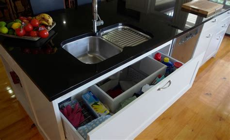 kitchen sink storage kitchen sink storage and organization home makeover