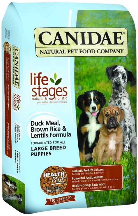 product review canidae  life stages large breed puppy food