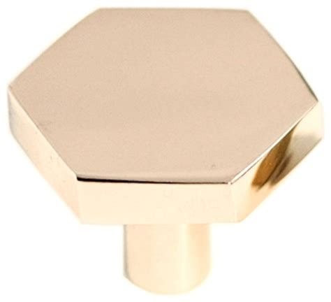 hexagon drawer pulls hexagon pull brass contemporary cabinet and drawer 1613