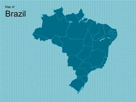map  brazil template