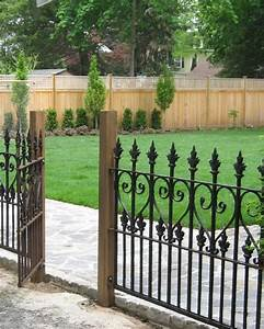 50, Elegant, Ornamental, Wrought, Iron, Fence, Designs