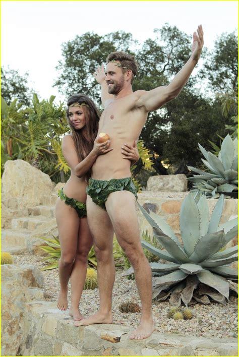 nick bachelor shoot corinne viall bikini wedding olympios jared takes movie tv nicks justjared scene