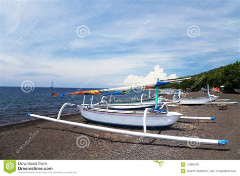 Fishing Boats For Sale Indonesia by Fishing Boats On Amed Bali Indonesia Stock Photo