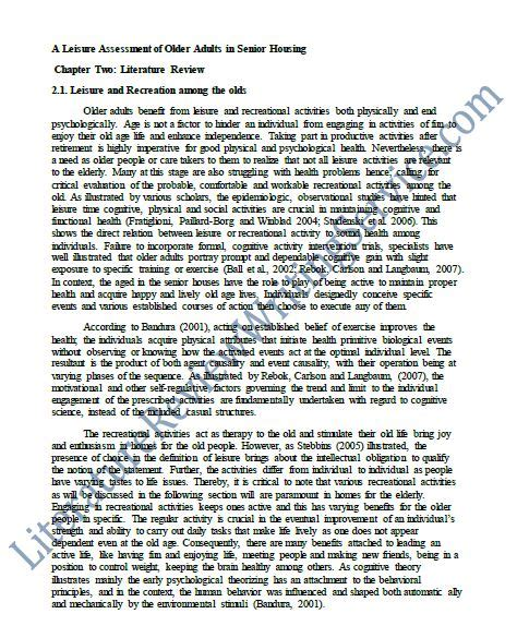 Writing A Literature Review In A Dissertation Okradio