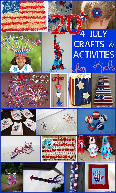 20 4th july crafts amp activities for 548 | 4 July Crafts and Activities for Kids1 2