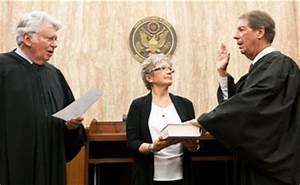 Silliman sworn in as an appellate judge on the U.S. Court ...