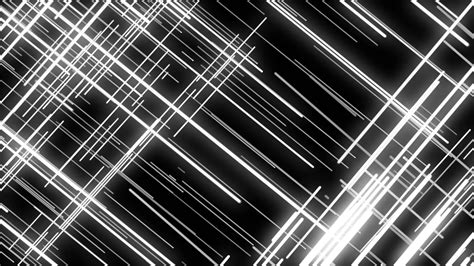 Abstract Black Line by Black White Abstract Grid Lines Loopable Motion
