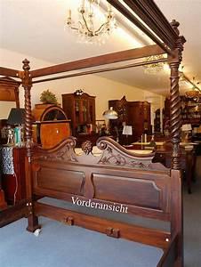 Betten Landhausstil Antik : himmelbett 180 x 200 aus mahagoni im antik stil betten ~ Sanjose-hotels-ca.com Haus und Dekorationen